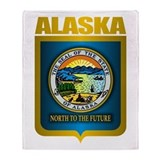 &quot;Alaska Gold&quot; Throw Blanket
