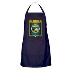 """Alaska Gold"" Apron (dark)"