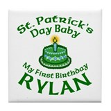 RYLAN Personalized Tile Coaster