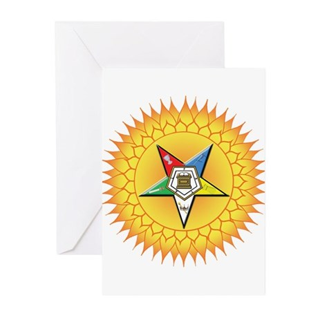 OES In the Sun Greeting Cards (Pk of 10)