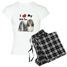 I Love My Shih Tzu Pajamas