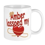 Amber Lassoed My Heart Mug
