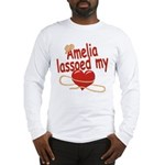 Amelia Lassoed My Heart Long Sleeve T-Shirt