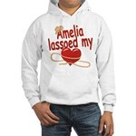 Amelia Lassoed My Heart Hooded Sweatshirt