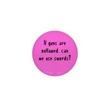 Use Swords? Mini Button (10 pack)