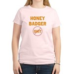 Honey Badger Don't Give a Shi Women's Light T-Shir