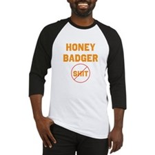 Honey Badger Don't Give a Shi Baseball Jersey