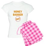 Honey Badger Don't Give a Shi Women's Light Pajama