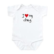 I LOVE MY Chug Infant Bodysuit
