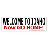 Idaho Welcome Bumper Bumper Sticker