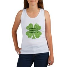 [Your text] St. Patrick's Day Women's Tank Top