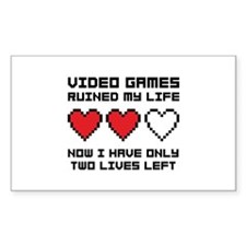 Video Games Decal