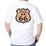Retro Route 66 Road Sign T-Shirt