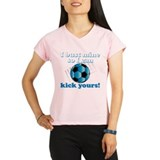 Cute Football Performance Dry T-Shirt