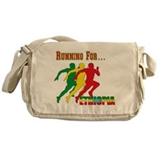 Ethiopia Running Messenger Bag