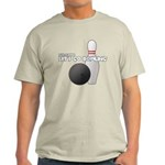 Let's Go Bowling Dude Light T-Shirt