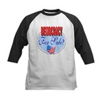 Democracy for sale Kids Baseball Jersey