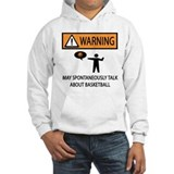 Spontaneously Talk Basketball Hoodie
