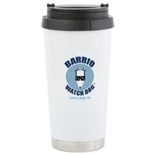 Barrio Watch Dog Ceramic Travel Mug