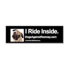 Bumper Magnet (Pug) I Ride Inside