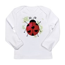 Unique Ladybug Long Sleeve Infant T-Shirt