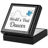 Dancer (World's Best) Gift Keepsake Box