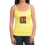 Love Is All You Need Ladies Top
