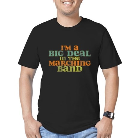 Big Deal in the Marching Band Men's Fitted T-Shirt
