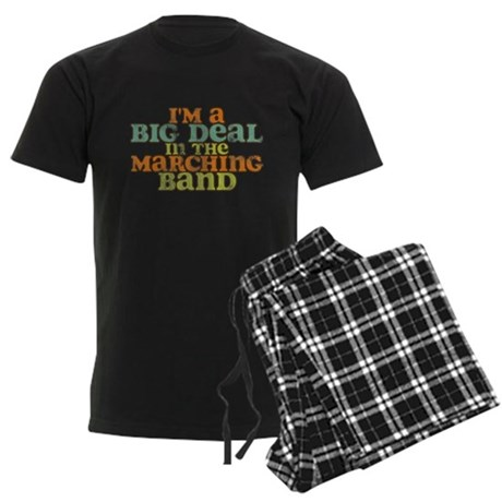 Big Deal in the Marching Band Men's Dark Pajamas