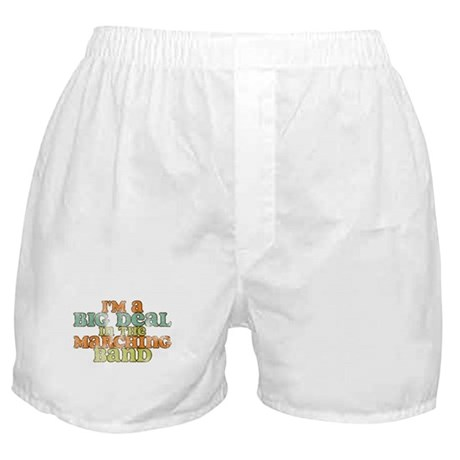 Big Deal in the Marching Band Boxer Shorts