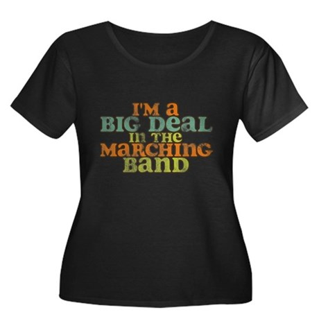 Big Deal in the Marching Band Women's Plus Size Sc