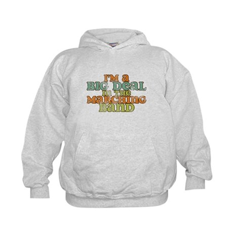 Big Deal in the Marching Band Kids Hoodie