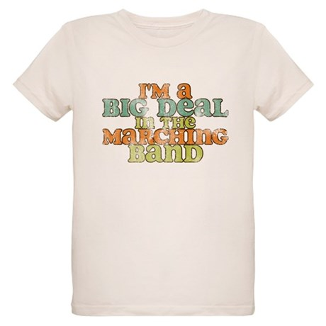 Big Deal in the Marching Band Organic Kids T-Shirt
