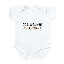 Dog Walker In Charge Infant Bodysuit