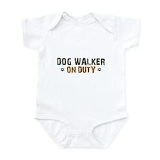 Dog Walker On Duty Infant Bodysuit