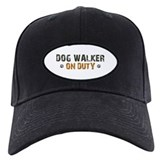 Dog Walker On Duty Baseball Cap