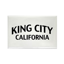 King City California Rectangle Magnet