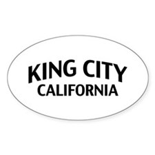 King City California Decal
