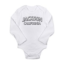 Jackson California Long Sleeve Infant Bodysuit