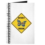Butterfly Crossing Sign Journal
