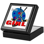 Hockey Girl Keepsake Box