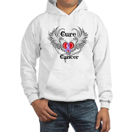 Cure Cancer Hooded Sweatshirt