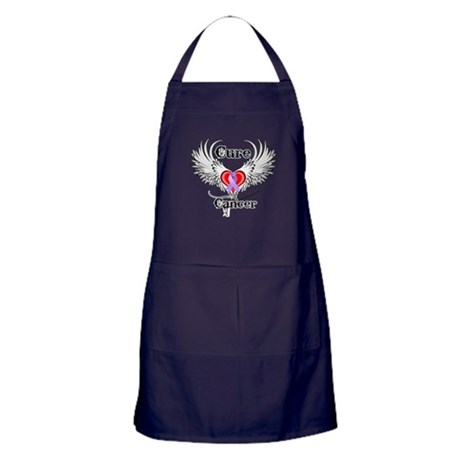 Cure Cancer Apron (dark)