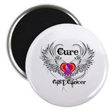 "Cure GIST Cancer 2.25"" Magnet (100 pack)"