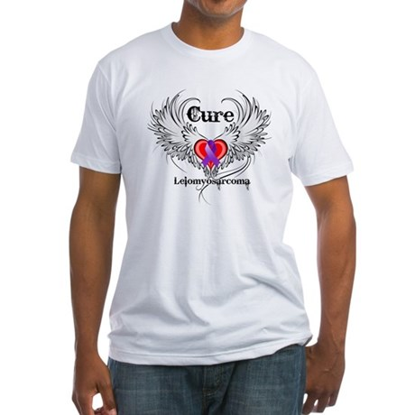 Cure Leiomyosarcoma Fitted T-Shirt