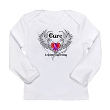 Cure Leiomyosarcoma Long Sleeve Infant T-Shirt