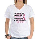 &#169; Supporting Admiring 3.2 Breast Cancer Shirts Wom