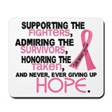 © Supporting Admiring 3.2 Breast Cancer Shirts Mou