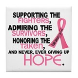 &#169; Supporting Admiring 3.2 Breast Cancer Shirts Til