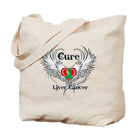 Cure Liver Cancer Tote Bag